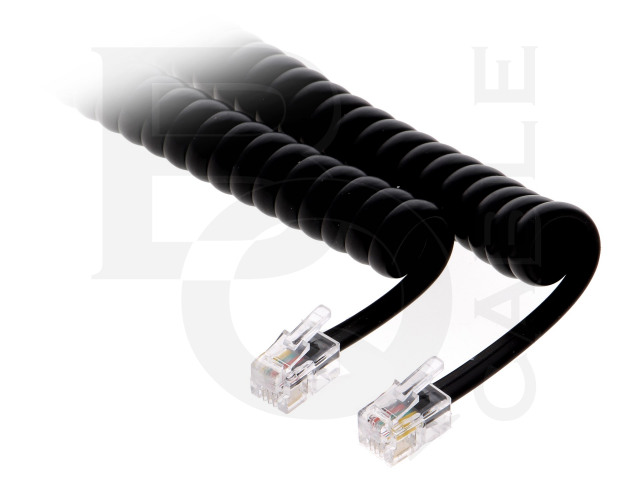 TEL-4C-07T-BK BQ CABLE, Cable