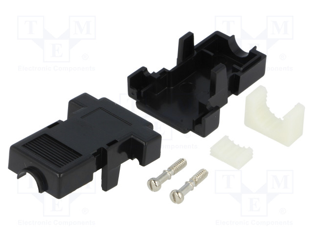 ENCITECH 2360-0101-01 - Kryt: pre konektory D-Sub
