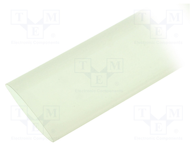 ALPHA WIRE FIT22111/2 CLEAR 5X6 IN - Heat shrink sleeve