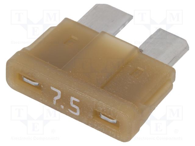 LITTELFUSE 0ATO07.5HXGLO - Fuse: fuse