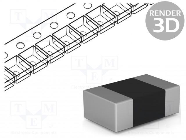 VISHAY CRCW0201220RFKTDBC - Rezistor: thick film