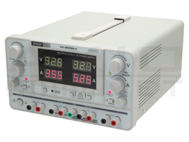 AX-3005N-4 AXIOMET, Napájací zdroj