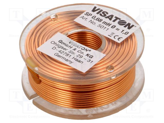 VISATON 5011 - Inductor: air coil