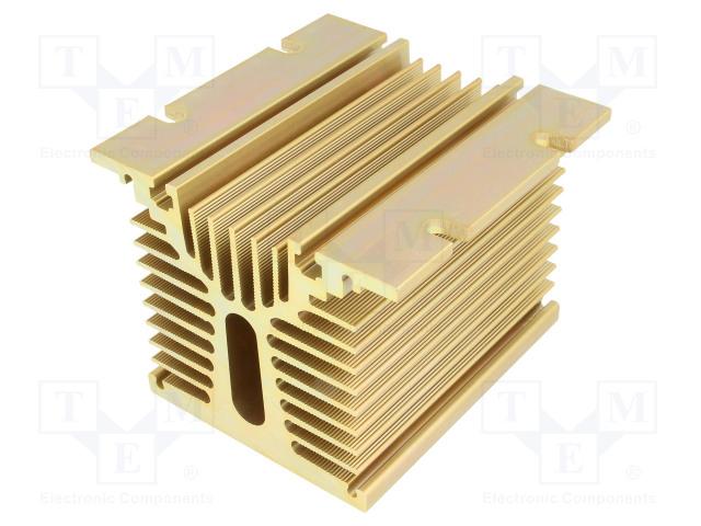 ANLY ELECTRONICS HS-081-100 - Chladič: lisovaný