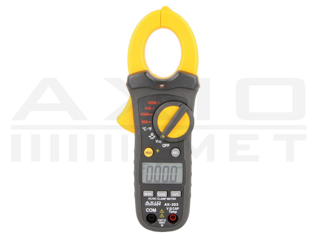 AX-203 AXIOMET, AC/DC digital clamp meter