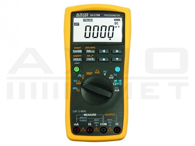 AX-C709 AXIOMET, Multimetr a kalibrátor