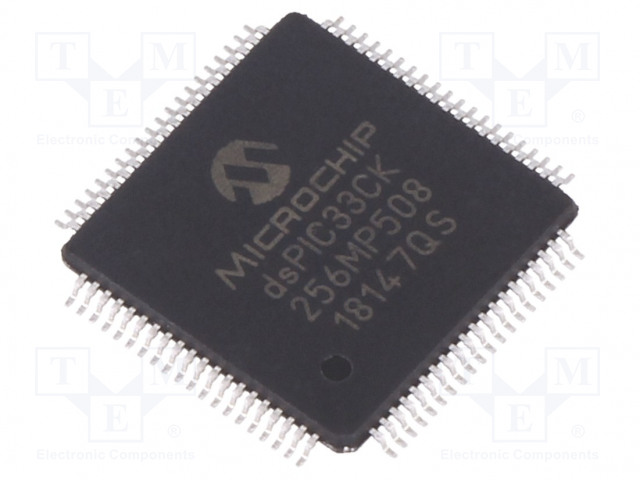 MICROCHIP TECHNOLOGY DSPIC33CK256MP508-I/PT - DsPIC microcontroller