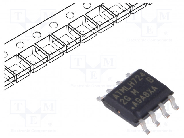 MICROCHIP TECHNOLOGY AT24CM01-SSHM-B - EEPROM memory