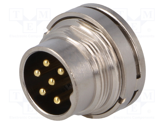 BULGIN PXMBNI16RPM06ASC - Connector: M16