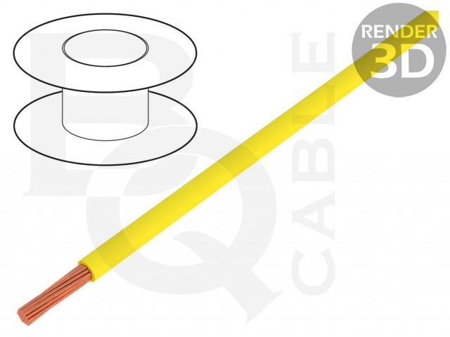 FLRYW-B0.75-YL BQ CABLE, Leitungen