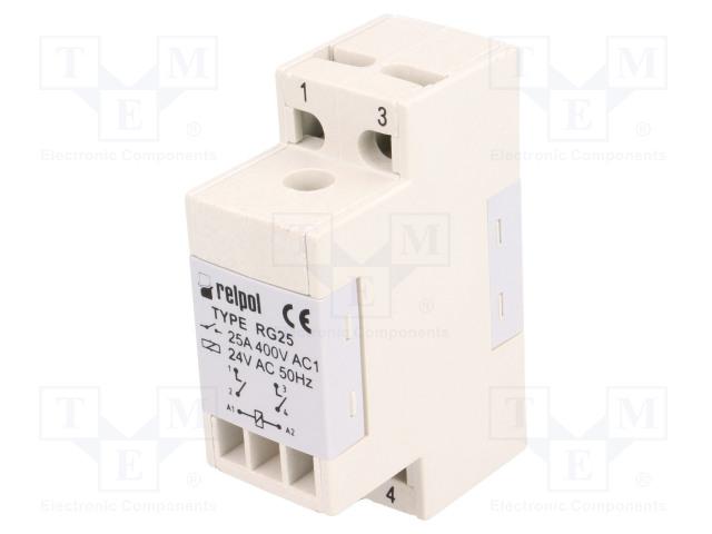 RELPOL RG25-1022-28-3024 - Relé: elektromagnetické