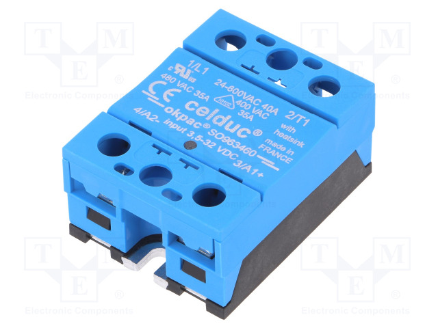 SO963460 CELDUC - Relay: solid state | Ucntrl: 3.5÷32VDC; 40A; 24 ...