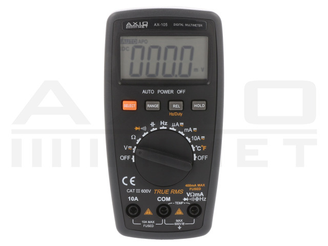 AX-105 AXIOMET, Digitale multimeters