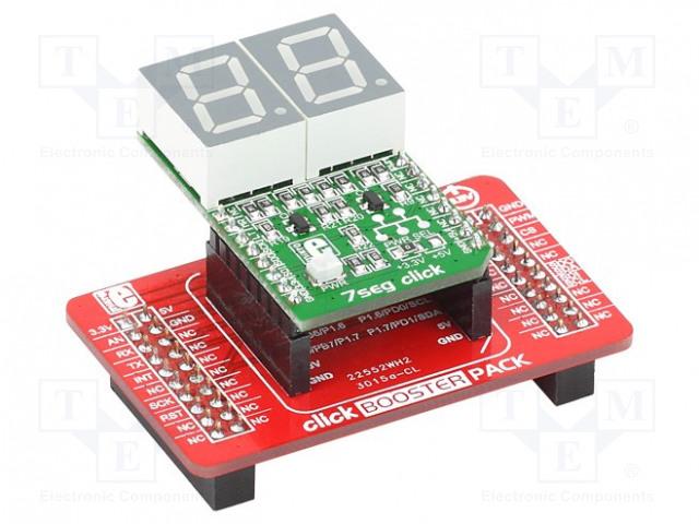 MIKROELEKTRONIKA CLICK BOOSTER PACK - Multiadaptér