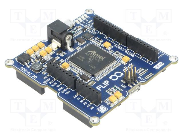 MIKROELEKTRONIKA FLIPNCLICK - Výv.kit: Microchip ARM