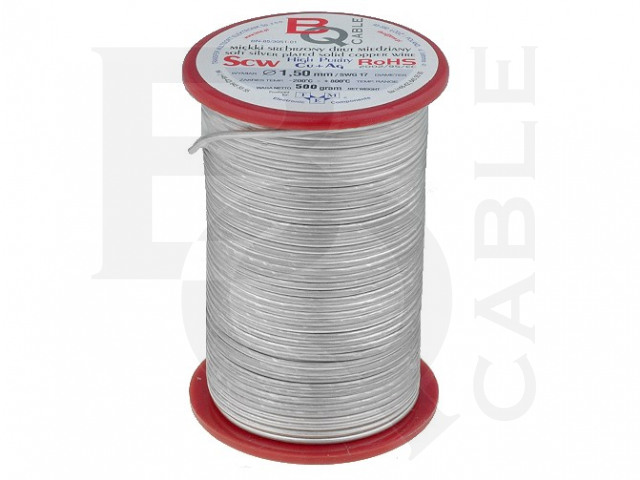 SCW-0.35/500 BQ CABLE, Silver plated copper wires