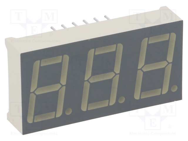 KINGBRIGHT ELECTRONIC BC56-12SRWA - Zobrazovač: LED