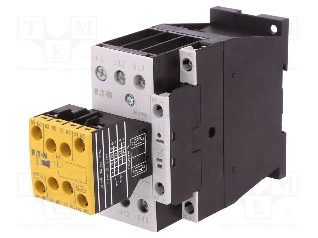 EATON ELECTRIC DILMS25-R23(RDC24) - Stykač: 3-pólový