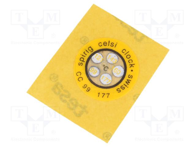 SPIRIG CC-099/177 - Indikátor teploty