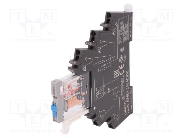 OMRON G2RV-SR501 AC/DC24 - Relais: interface