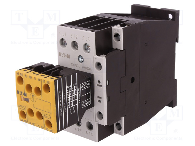 EATON ELECTRIC DILMS32-R23(230V50HZ,240V60HZ) - Контактор: 3-полюсен