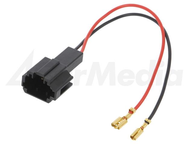 ZRS-AG-19 4CARMEDIA, Adapter voor luidsprekerconnector