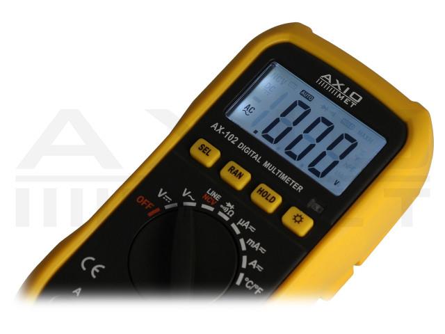 AX-102 AXIOMET, Multimetro digitale