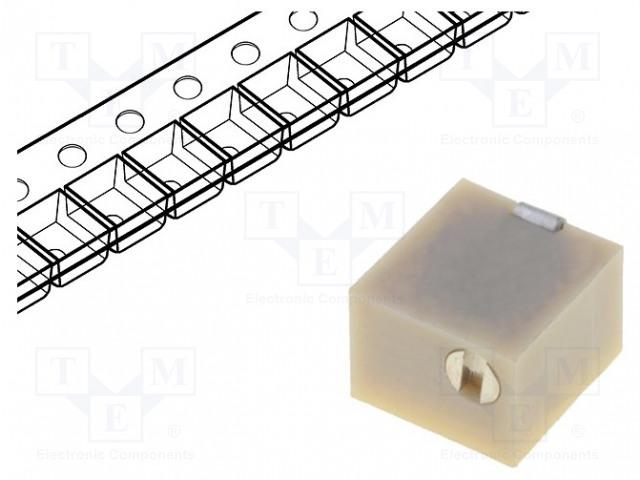 BOURNS 3214W-1-504E - Potenciometr: montážní