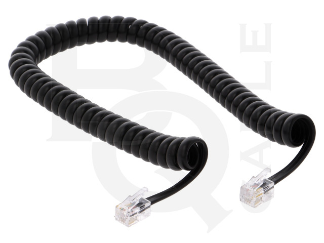 TEL-4C-02T-BK BQ CABLE, Cable