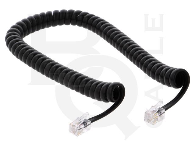 TEL-4C-02T-BK BQ CABLE, Kabel