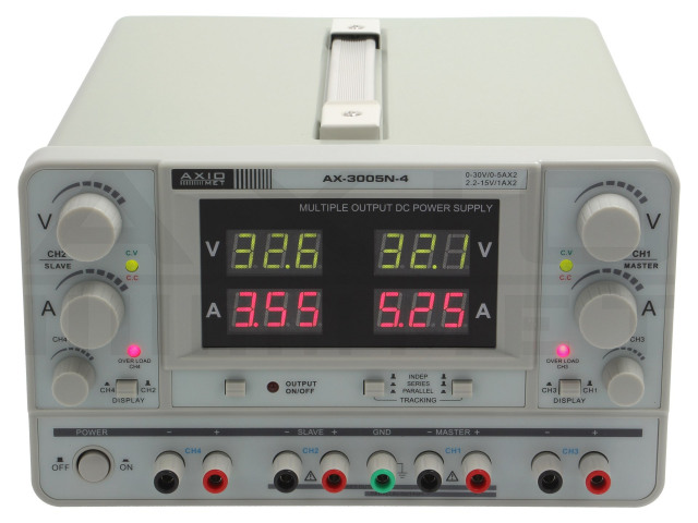 AX-3005N-4 AXIOMET, Tápegység