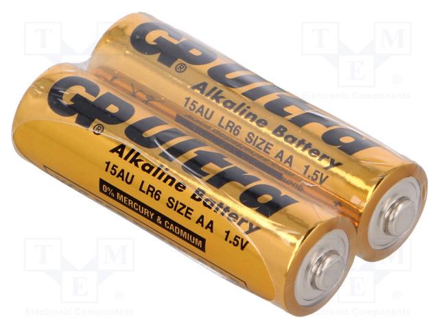 GP GPR6AU/FO2 - Battery: alkaline