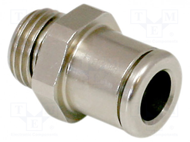 SCHMALZ STV-GE-G1/4-AG-6 - Straight push-in fitting