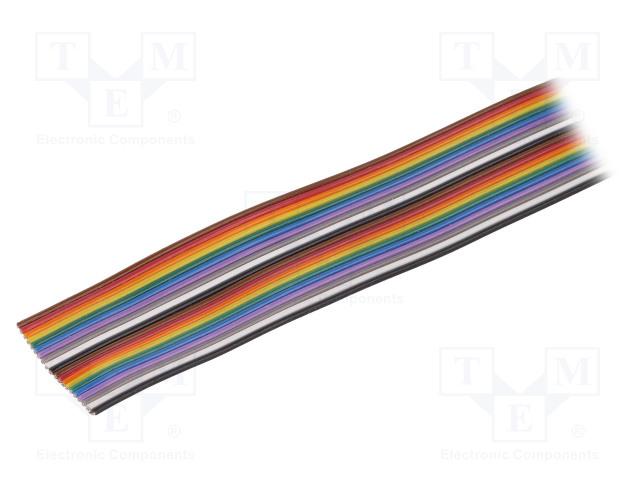 ALPHA WIRE 3542/7 MC005 - Wire: ribbon