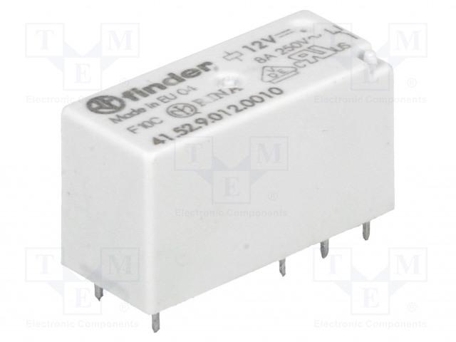 FINDER 41.52.9.012.0010 - Relé: elektromagnetické