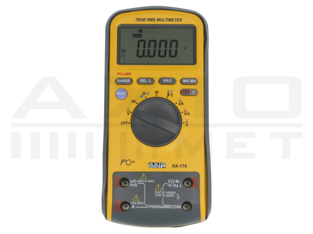 AX-176 AXIOMET, Digitale multimeters