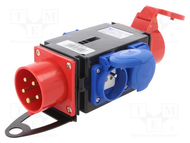 PAWBOL B.MINI-3 - Konektor: napájecí AC třífázové
