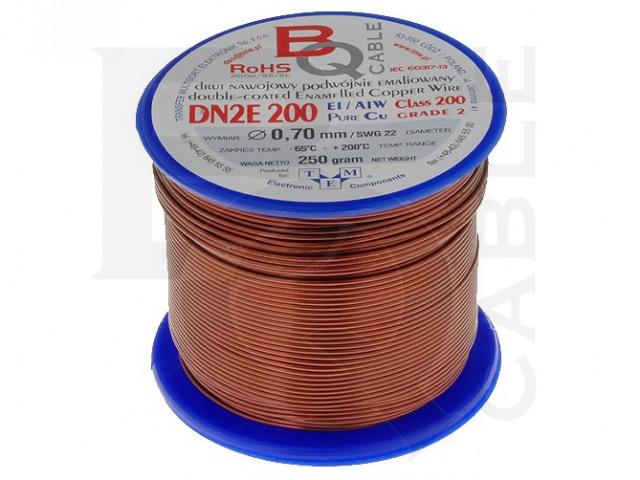 DN2E0.70/0.25 BQ CABLE, Wickeldraht