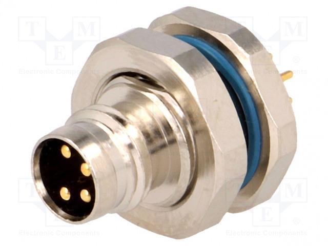 LUMBERG AUTOMATION 48962 RSMHL 4/S 5,5 - Konektor: M8