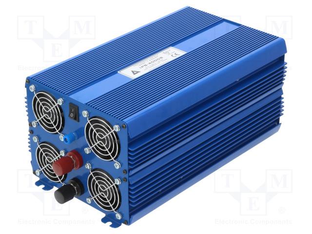 AZO DIGITAL IPS-4000S 12V/230V ECO MODE - Měnič: automobilový dc/ac