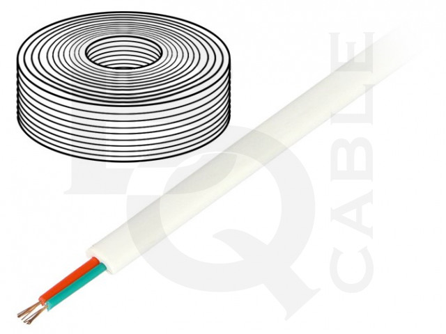 TEL-0030-100/WH BQ CABLE, Leiding