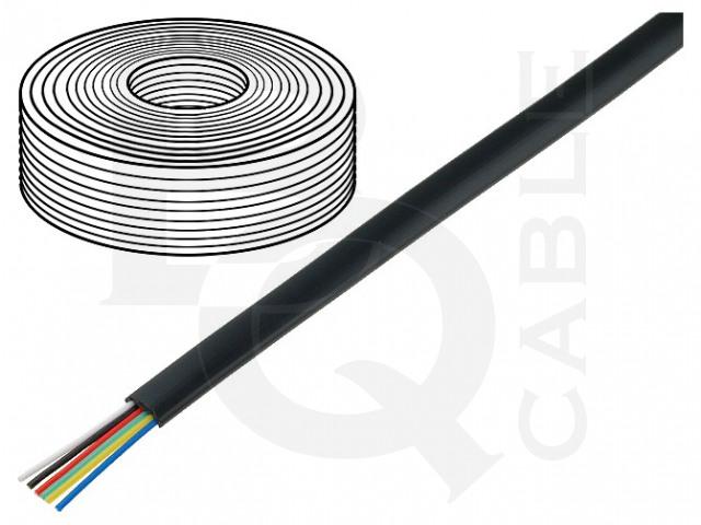 TEL-0034-100/BK BQ CABLE, Przewód
