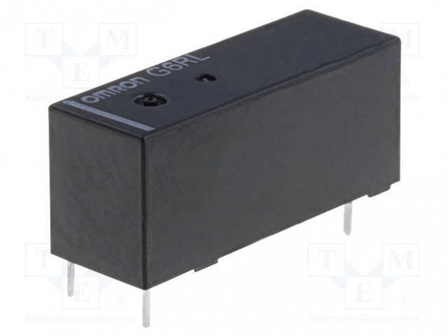 OMRON G6RL-1A 5VDC - Relé: elektromagnetické