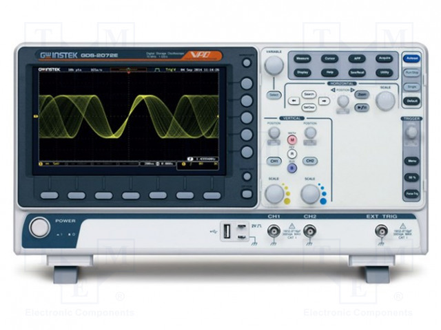 GW INSTEK GDS-2102E - Oscilloscoop: digitale