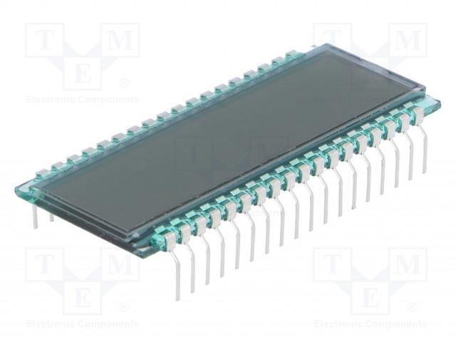 DISPLAY ELEKTRONIK DE 301-RS-20/6,35/M (5 VOLT) - Zobrazovač: LCD