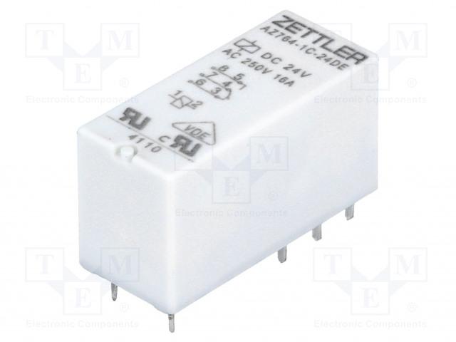 ZETTLER AZ764-1C-24DE - Relay: electromagnetic