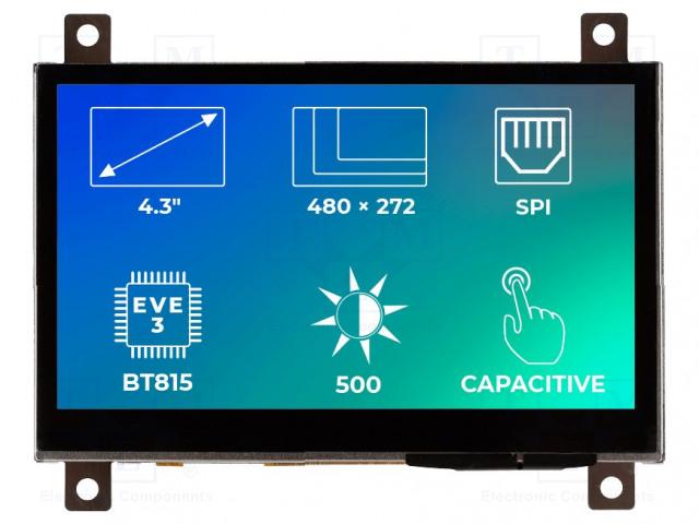 Riverdi RVT43ALBFWC00 - Display: TFT