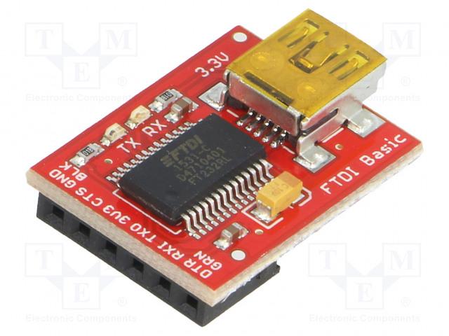 SPARKFUN ELECTRONICS INC. DEV-09873 - Modul: převodník
