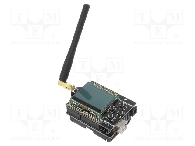 HOPE MICROELECTRONICS HOPEDUINO + 40801000680 - Výv.kit: vývojový