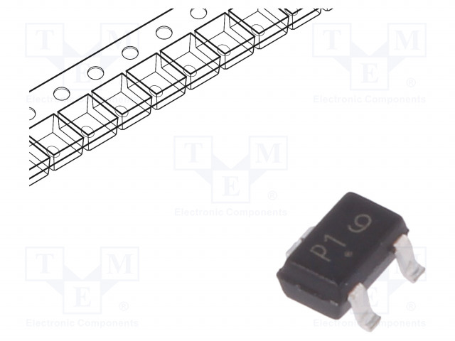 ON SEMICONDUCTOR MMBT2222AWT1G - Transistor: NPN